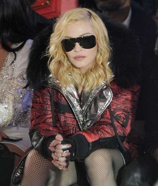 Madonna Comes for That Biopic About Her Early Years — Ouch!