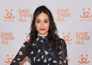 Emmy Rossum Reflects on the Pain of Not Having Her Dad at Her Upcoming Wedding