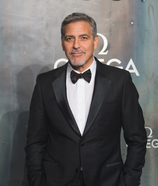 First Video of George Clooney After Scooter Crash