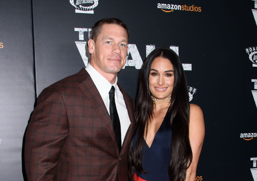 John Cena & Nikki Bella on His Public Proposal, Plus: Their Nude YouTube Video