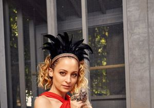 A Glimpse Into Nicole Richie's Simple Life with Her Chickens