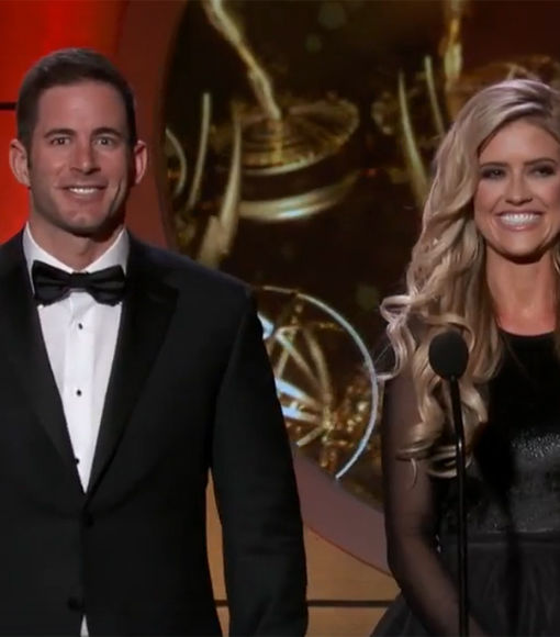 Tarek and Christina El Moussa Hit the Daytime Emmys Together