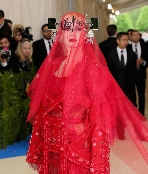 Pics! 2017 Met Gala Red Carpet