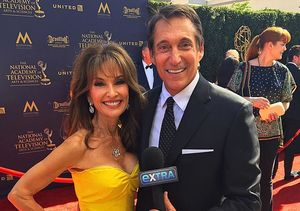 'Extra' at the Daytime Emmy Awards 2017