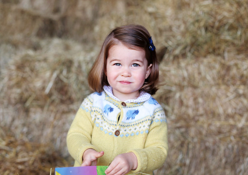 Princess Charlotte Is Growing Up Fast — See New Pic Ahead of Her 2nd Birthday!