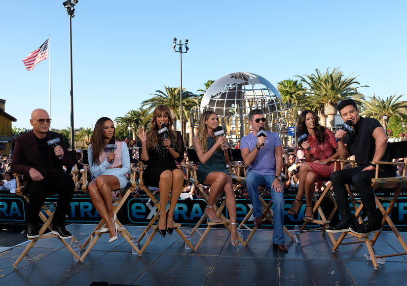 Exclusive! 'America's Got Talent' Takes Over 'Extra'