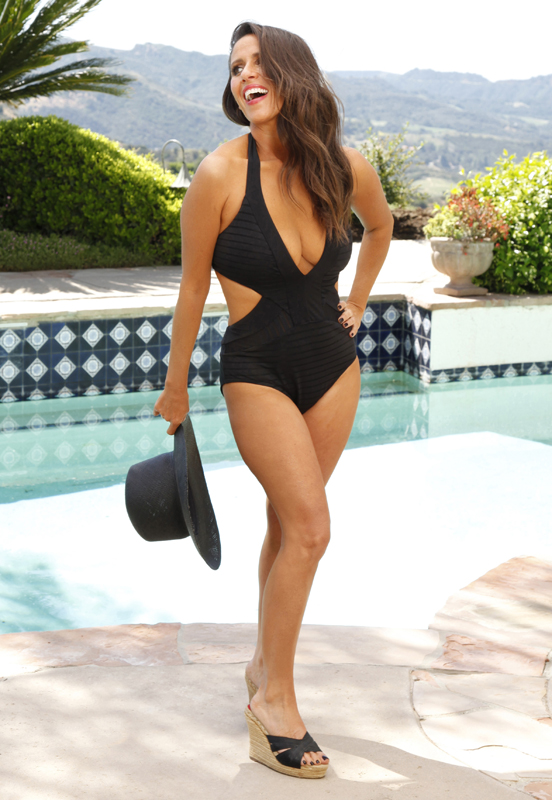 51cf779256c64 Soleil Moon Frye Flaunts Post-Baby Swimsuit Body – How Much Weight ...