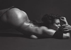 Bare It All! Ashley Graham Goes Nude for V