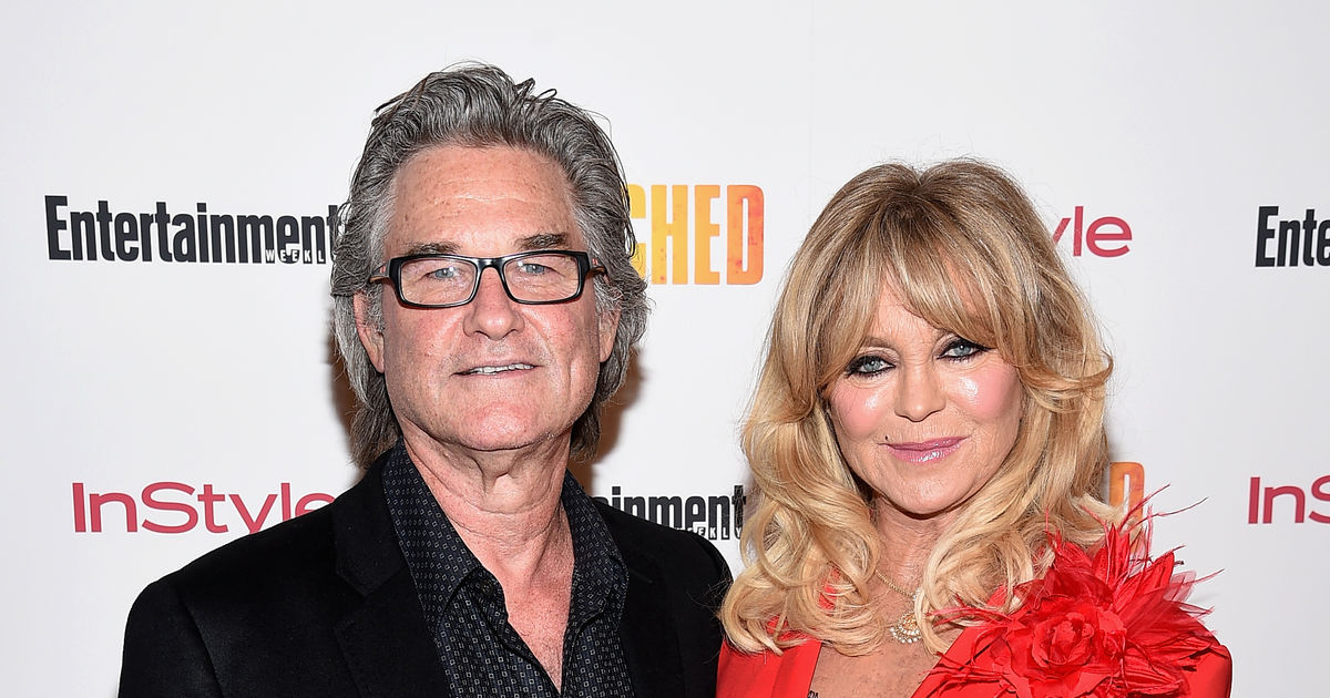 Goldie Hawn & Kurt Russell Reveal the Secrets of Their 34 ...