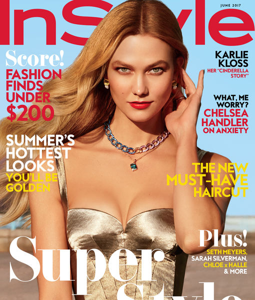 Supermodel Karlie Kloss Turned Superhero? Behind the Scenes at Her InStyle…
