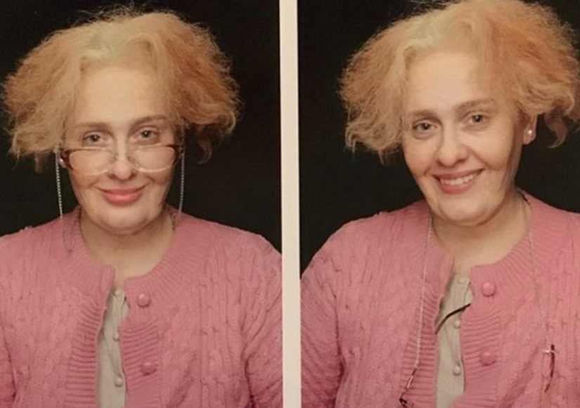 Adele Is That You? See Her Funny 29th Birthday Pics