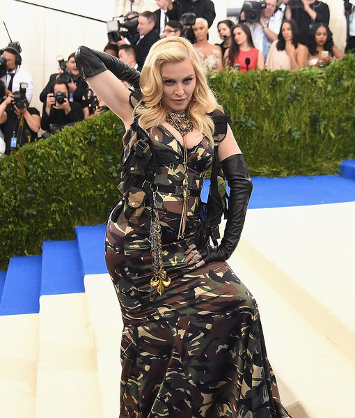 Madonna Gets Naked, Goes for the 'Gold' at 58