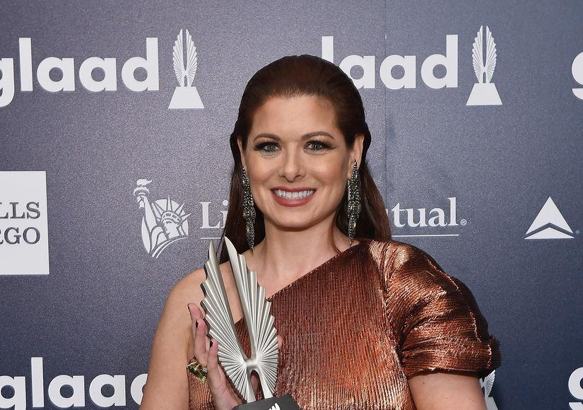 Debra Messing Calls Out Ivanka Trump at GLAAD Awards