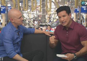 See Andy Puddicombe Lead Mario Lopez Through a Guided Meditation