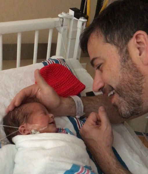 Jimmy Kimmel Gives Health Update on Infant Son