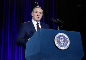 Kevin Spacey Finds Parallels Between 'House of Cards' and Real-Life Politics…