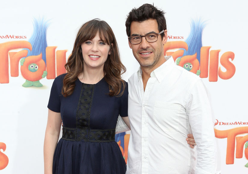 Jacob Pechenik with actress wife Zooey Deschanel
