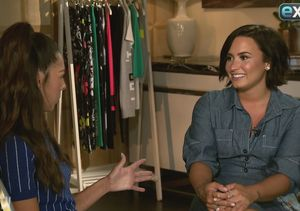 Demi Lovato Dishes on Happy Life, Plus: Her Gym Meeting with Kate Hudson