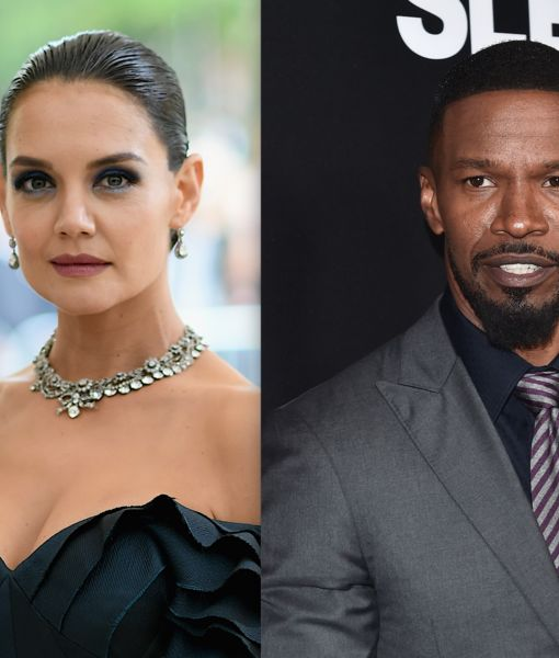 Katie Holmes & Jamie Foxx Visit Paris... with Tom Cruise Filming Nearby