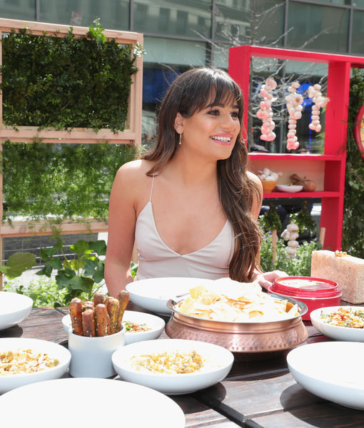 Sabra and Lea Michele Co-Host 'Unofficial Meal' for #NationalHummusDay