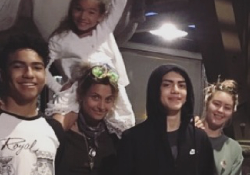 Paris Jackson Posts Rare Pic of Little Brother Blanket