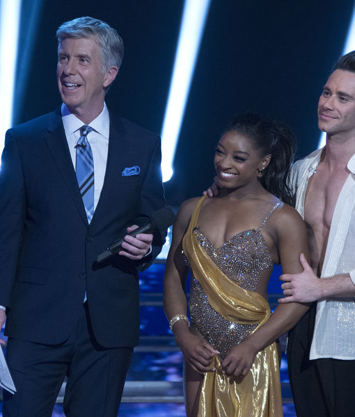 Simone Biles' Reaction to Shocking 'Dancing with the Stars' Exit, Plus:…