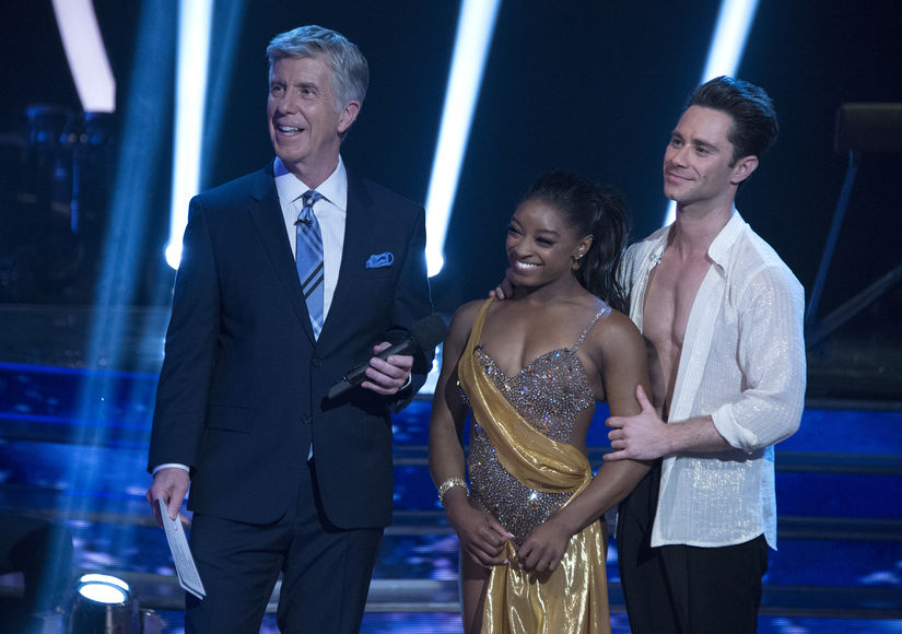 Simone Biles' Reaction to Shocking 'Dancing with the Stars' Exit, Plus: Her Encouraging Words for Gia!