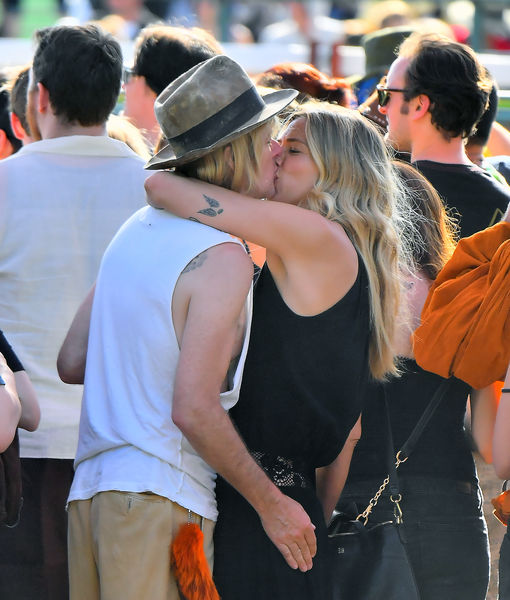Pics! Lisa Marie Presley's Ex Spied Kissing New GF