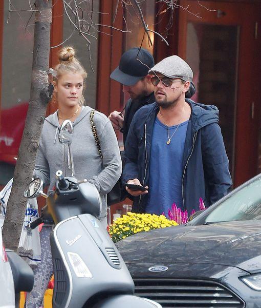 Leonardo DiCaprio & Nina Agdal Split