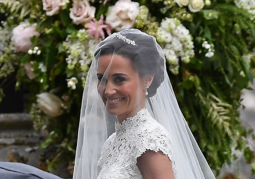 Pippa Middleton & James Matthews Wed — What a Gown!