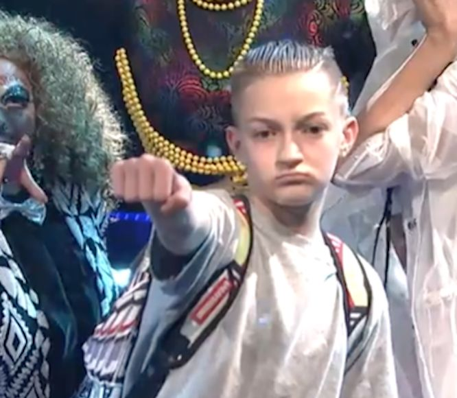 Meet Katy Perry's 'Swish Swish' Backpack Kid