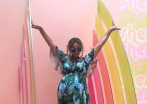 Beyoncé Bares Henna-Decorated Bump!: Inside Her Carter Push Party
