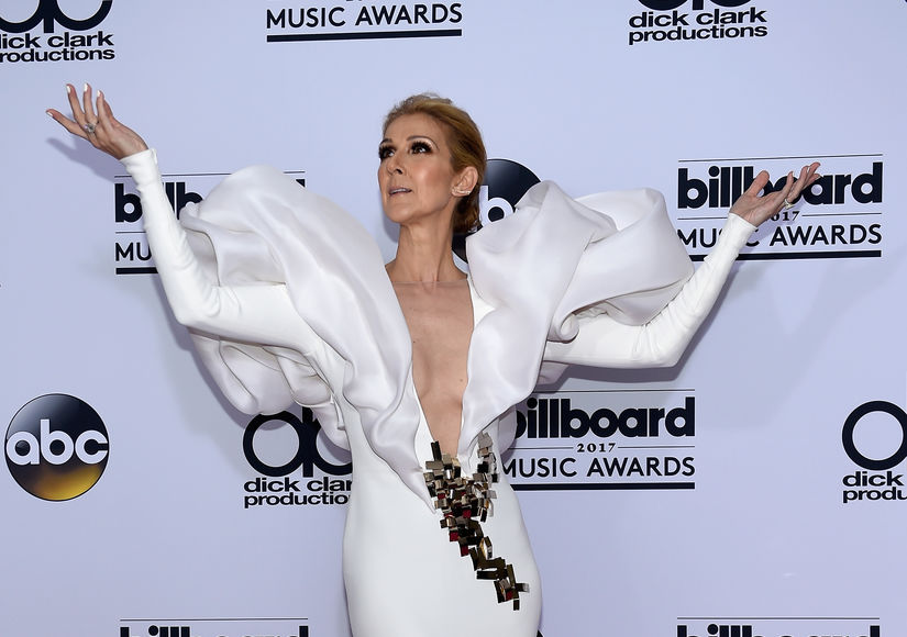 Céline Dion & Miley Cyrus Both Tear Up on the BBMAs Stage