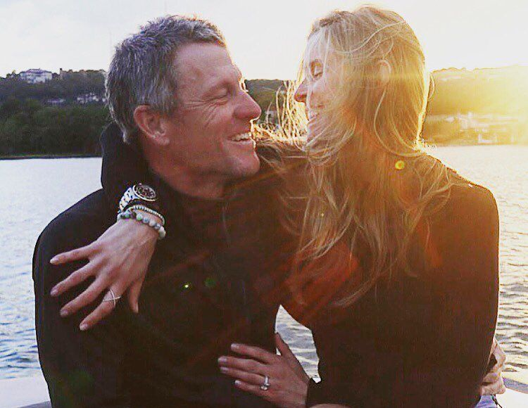 Lance Armstrong Engaged to GF Anna Hensen — See Her Ring!