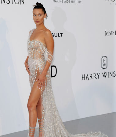 Why Everyone Is Talking About Bella Hadid's amfAR Dress