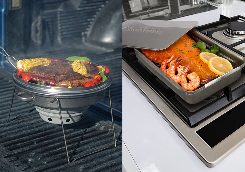 Win It! A Camerons Stovetop Smoker and Portable Tailgating Grill