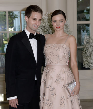 Miranda Kerr Marries Evan Spiegel!