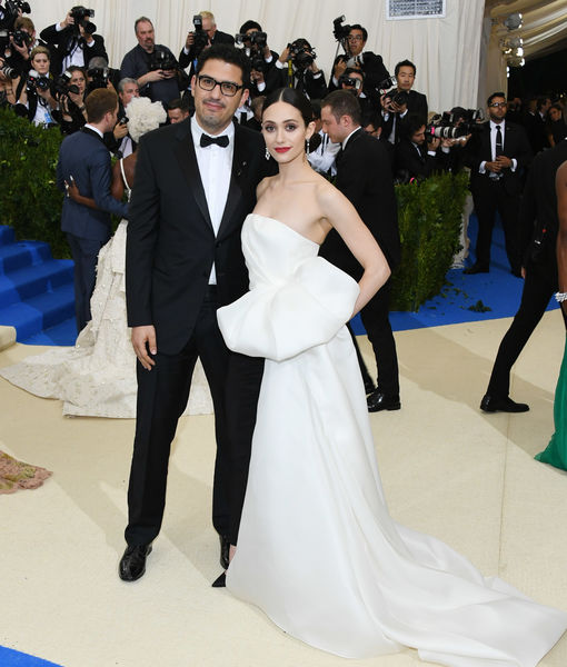 Emmy Rossum & 'Mr. Robot' Creator Sam Esmail Wed
