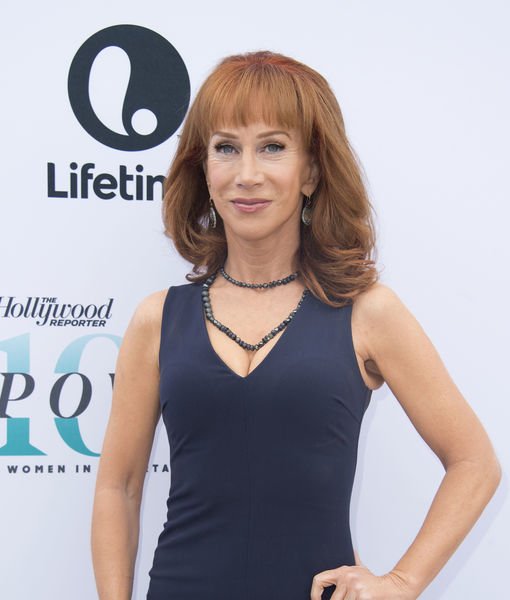 Kathy Griffin Faints at Stand-Up Comedy Show in Dublin