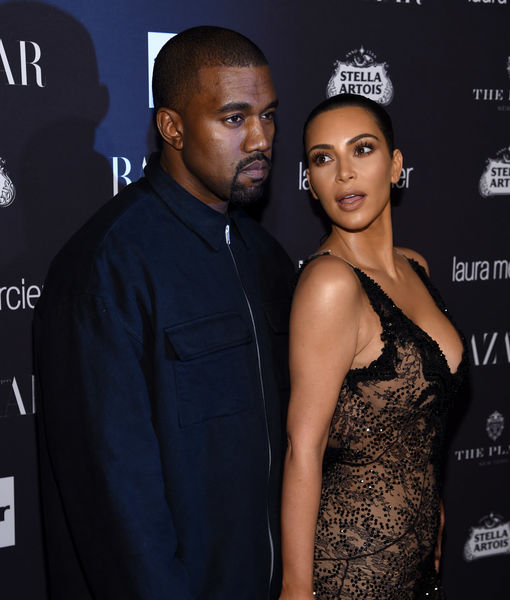 Rumor Bust! Kim Kardashian & Kanye West Did Not Have a Trial Separation
