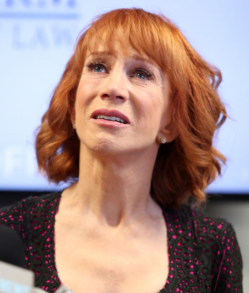 Kathy Griffin Hits Back at Melania Trump, Tears Up Over Anderson Cooper