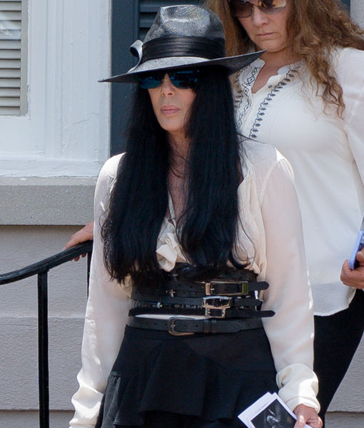 Cher Pays Her Respects to Ex-Husband Gregg Allman at His Funeral