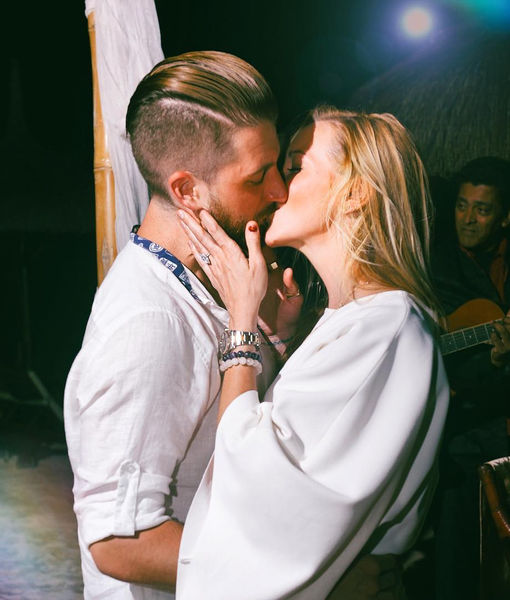 Katie Cassidy Engaged — See Her Huge Diamond Ring!