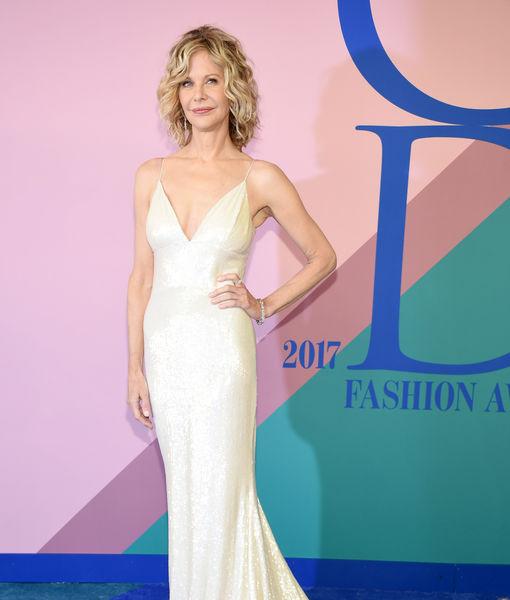 Meg Ryan Makes Rare Public Appearance at CFDA Awards 2017