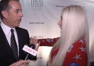 Extra Scoop: Awkward! Jerry Seinfeld Denies Kesha Hug