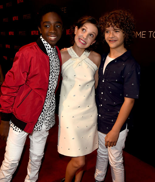 'Extra' Exclusive: 'Stranger Things' Cast Gives Scoop on Season 2