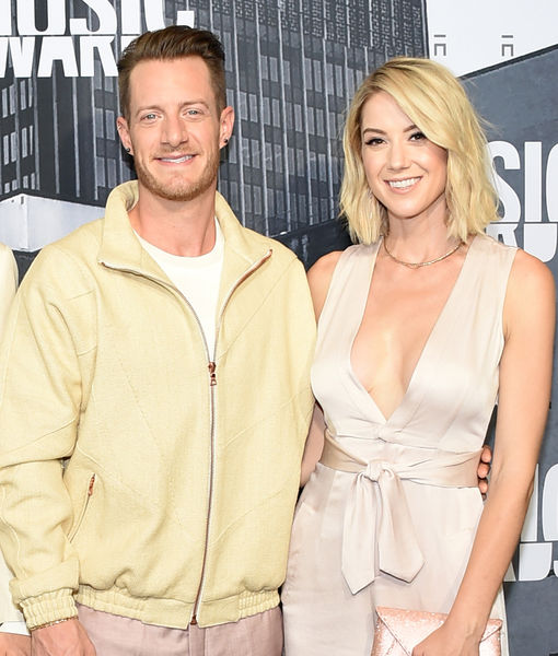 Florida Georgia Line Singer Tyler Hubbard's Wife Debuts Small Baby Bump at CMT Awards
