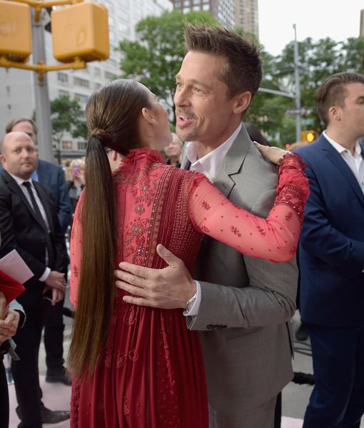 Brad Pitt's Hug Fest at 'Okja' Premiere, Plus: Did He Call Jennifer…