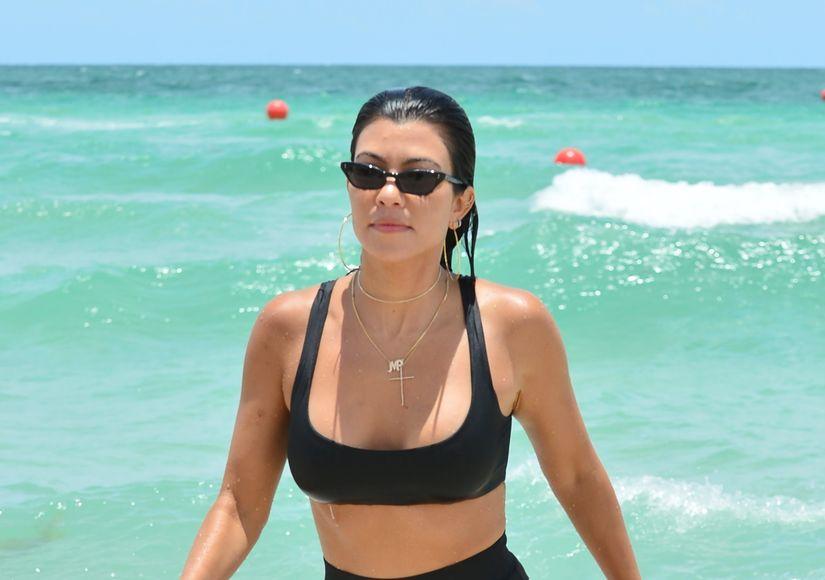 Kourtney Kardashian & Scott Disick's Bikini War of the Exes