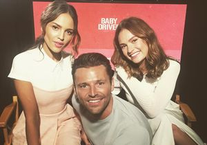 Mark Wright's Blushworthy Conversation with 'Baby Driver' Stars